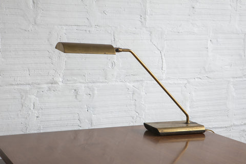 Koch & Lowy Brass Lamp