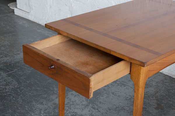 Teak Side Tables The Good Mod - Teak side table with drawer