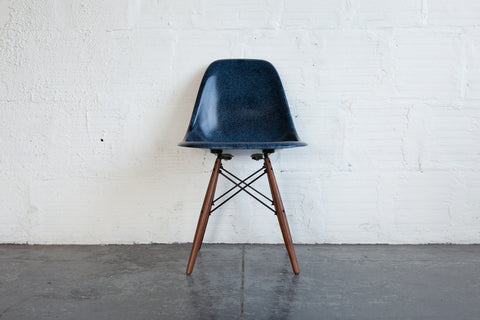 MODERNICA BLUE SIDE SHELL CHAIR FRONT