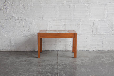 Teak & Tile Coffee Table