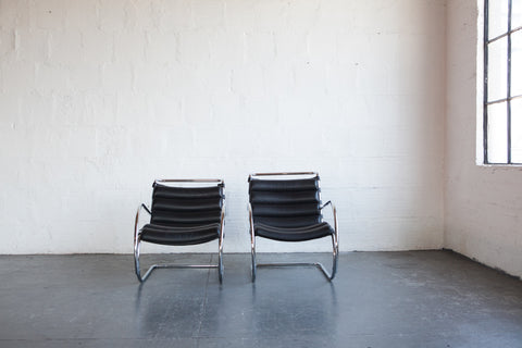Mies van der Rohe MR40 Lounge Chairs