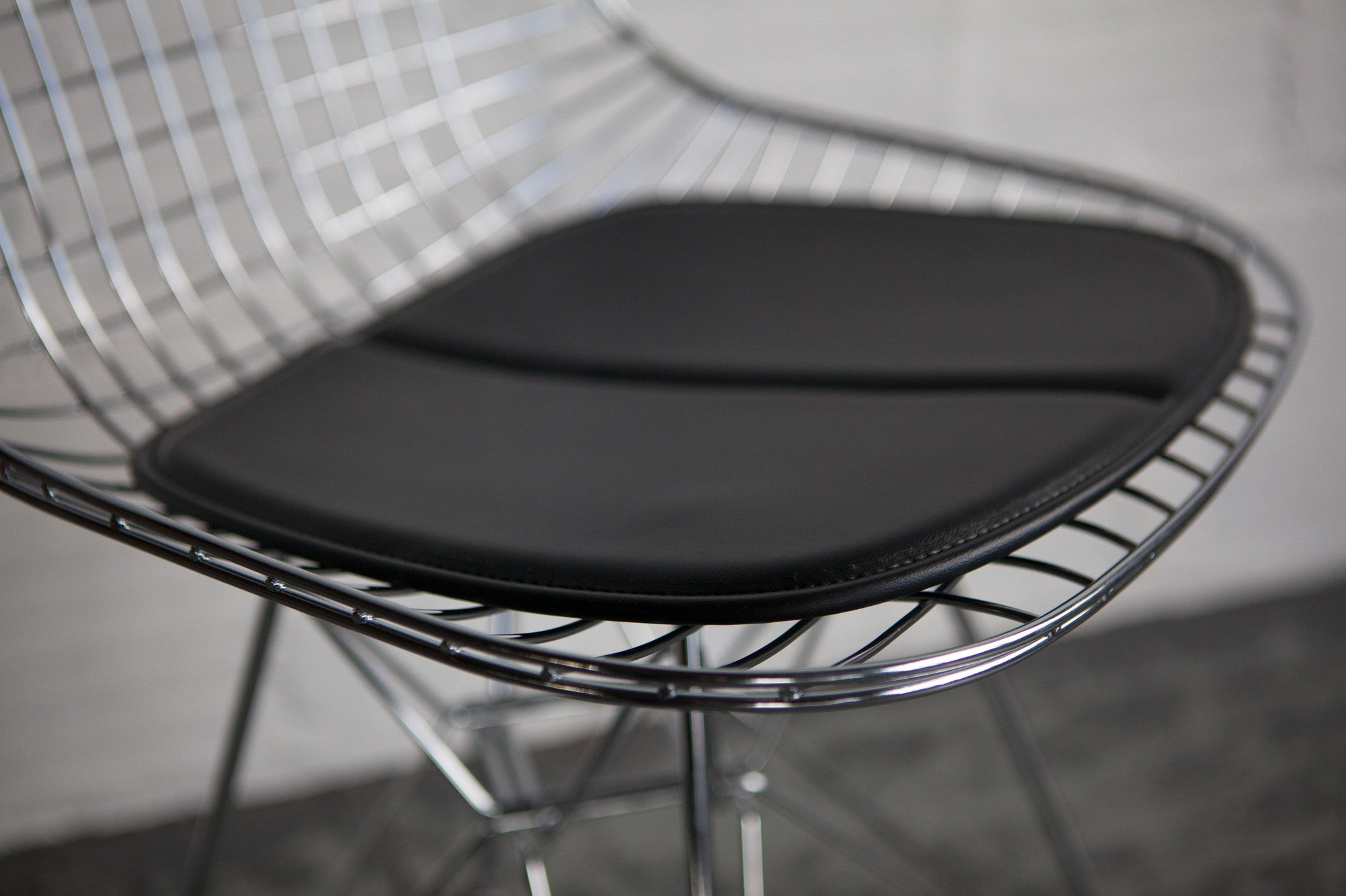 Chrome Wire Chair by Modernica – The Good Mod