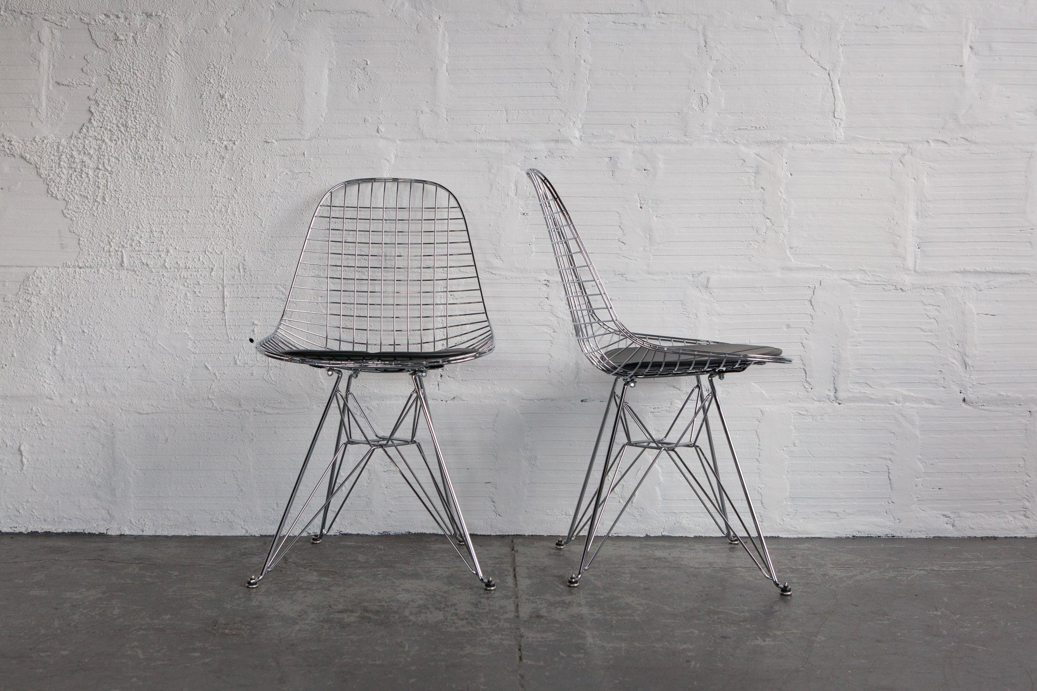 Chrome Wire Chair By Modernica