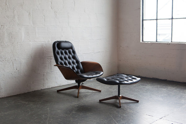 ... Mr. Chair U0026 Ottoman By George Mulhauser For Plycraft ...