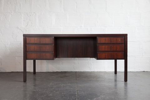 Omann Model No. 77 Rosewood Desk