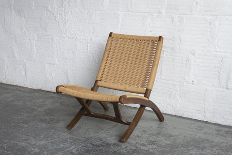 Yugoslavian Corded Lounge Chair