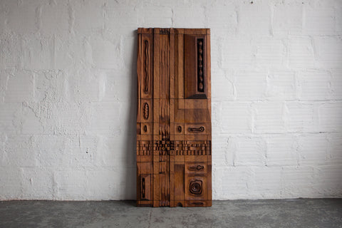 Redwood Wall Panel by Leroy Setziol