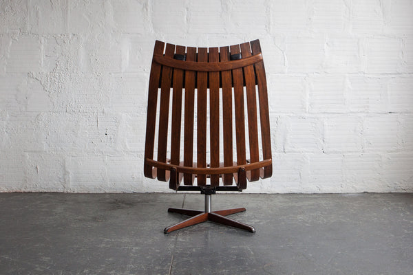 Scandia Lounge Chair By Hans Brattrud The Good Mod