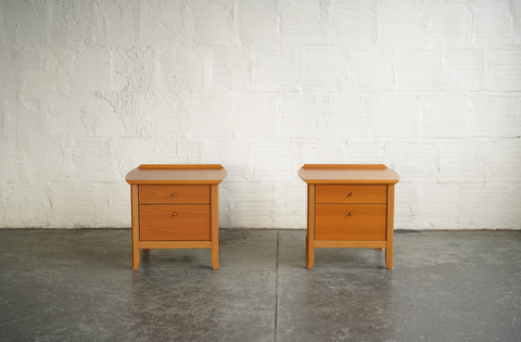 Italian Side Tables, Set of 2