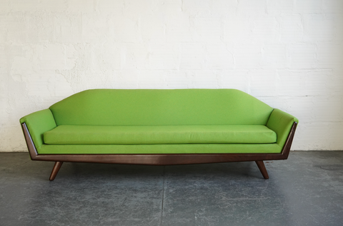Green Gondola Sofa