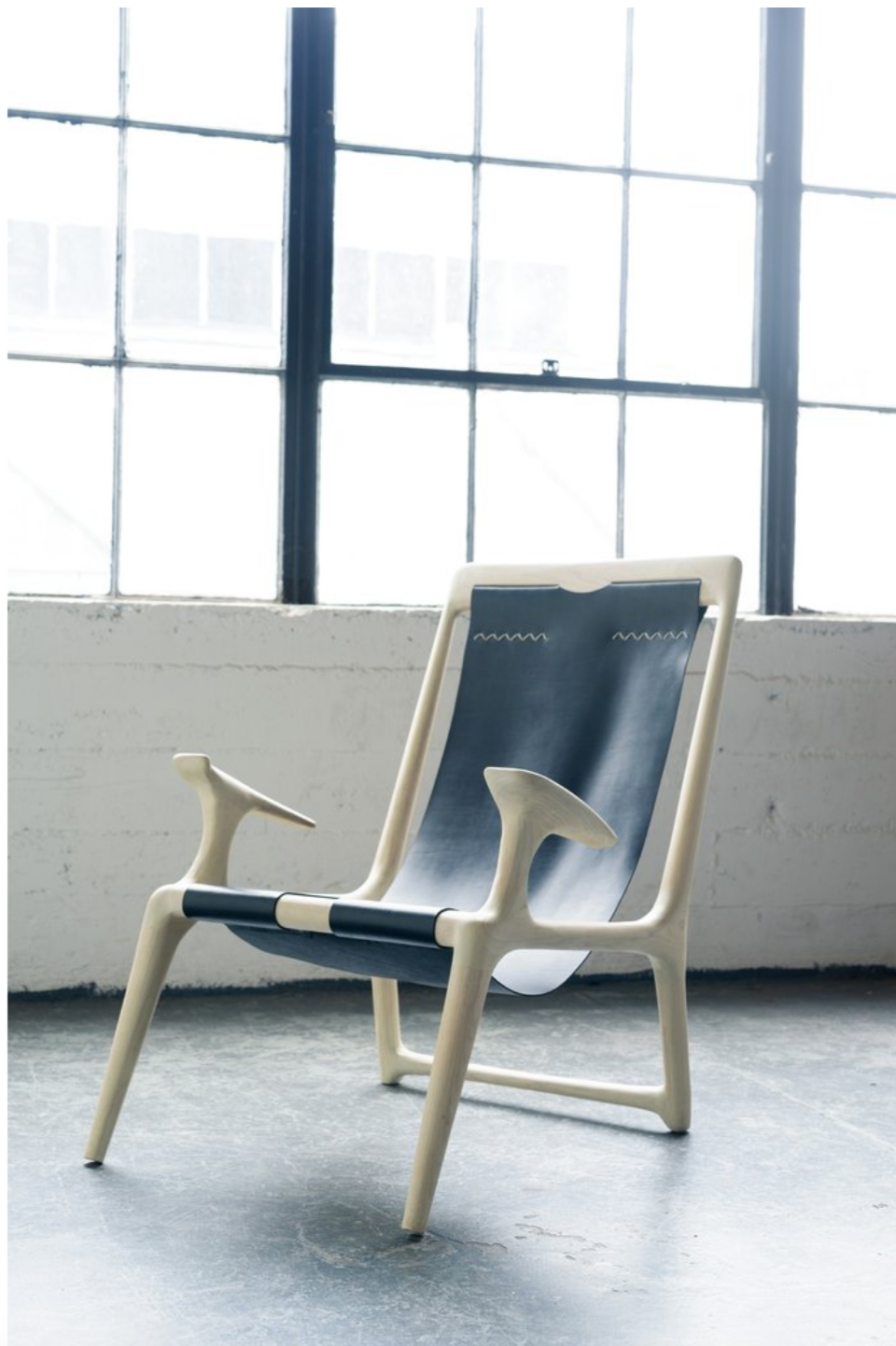 The Sling Chair By Fernweh Woodworking The Good Mod