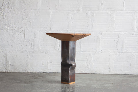 Upset Side Table Square by Spencer Staley