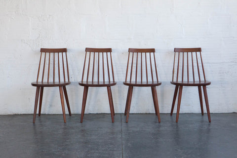 Swedish Spindleback Dining Chairs