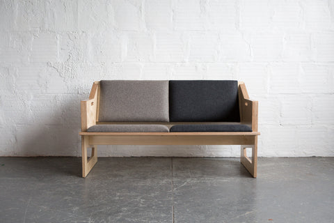TGM Plywood Loveseat