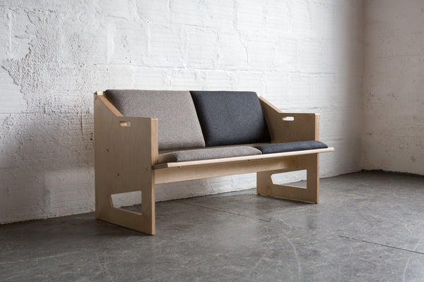Tgm Plywood Loveseat The Good Mod