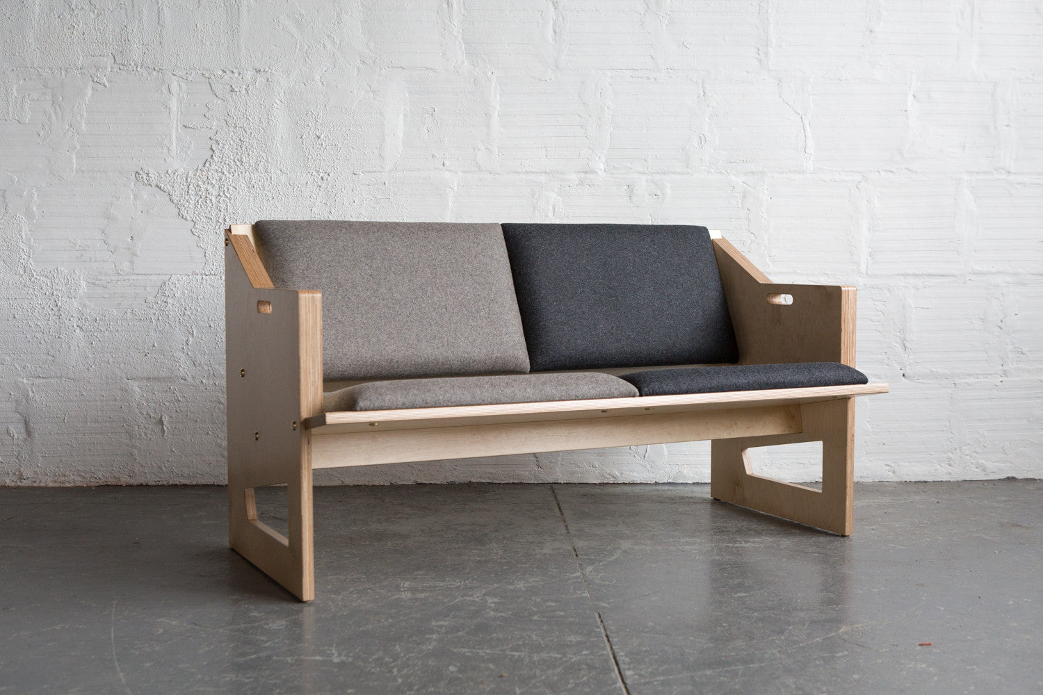 Do It Yourself Furniture: TGM Plywood Loveseat