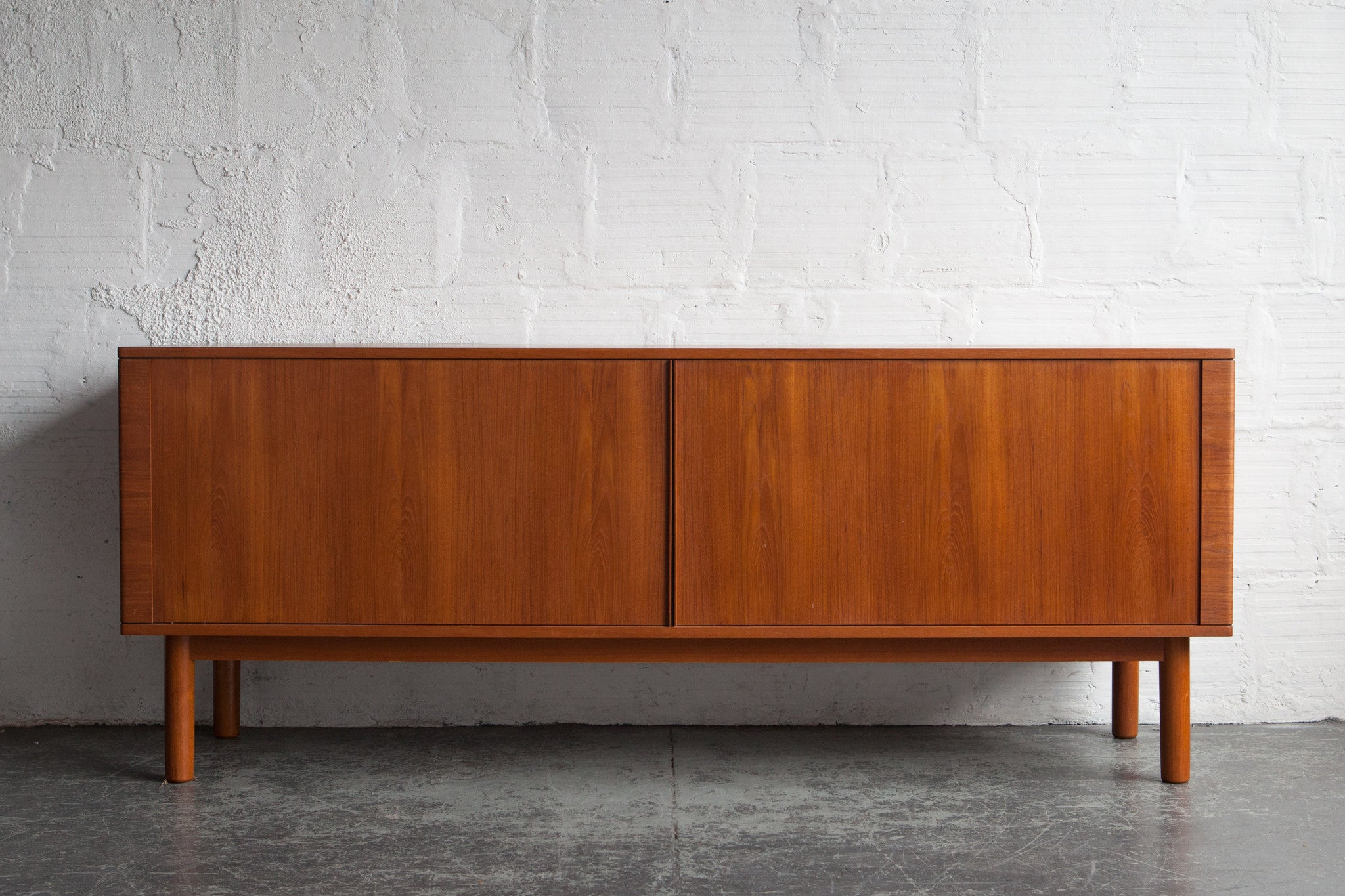 Teak Credenza with Tambour Doors & Teak Credenza with Tambour Doors \u2013 The Good Mod Pezcame.Com
