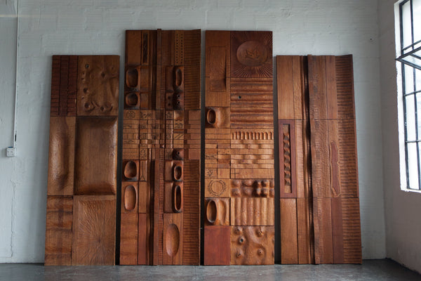 Wall Panels By Leroy Setziol Set Of 4 The Good Mod