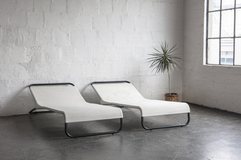 Walter Lamb Chaise Lounges