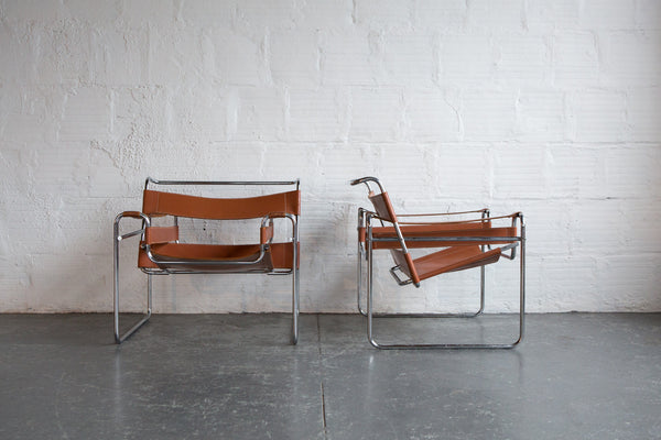 wassily lounge chair set of 2 the good mod