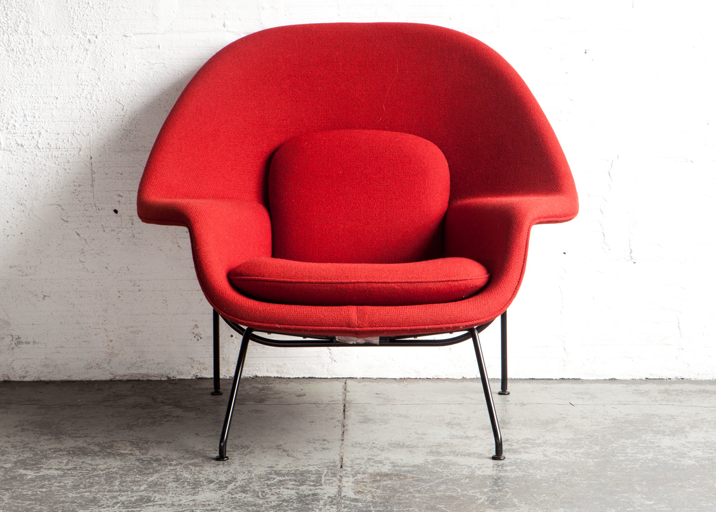 Eero Saarinen Womb Chair History. Womb Chair \u0026 Ottoman By Eero Saarinen  For Knoll History L