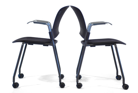 Caper Stacking Desk Chair (Thirteen Available)