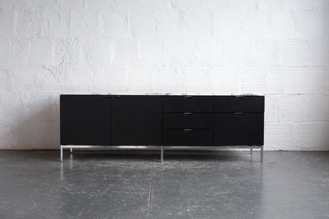 Knoll Marble Top Credenza