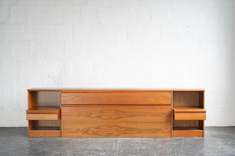 Headboard with Side Drawers