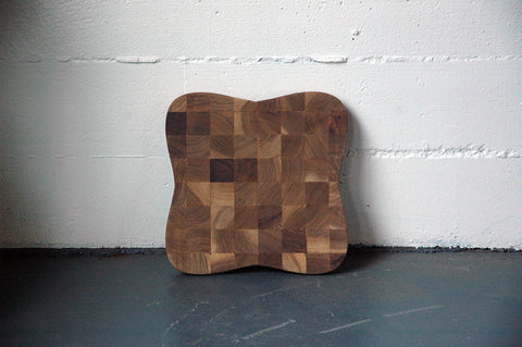 SPENCER STALEY TEAK CUTTING BOARD