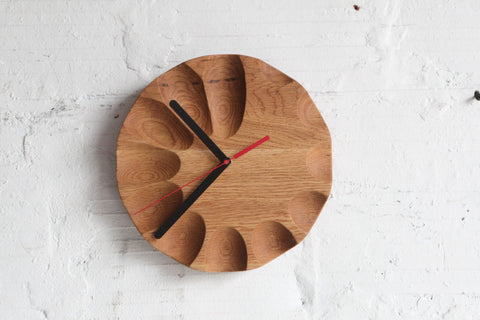 TGM Oak Gradient Clock