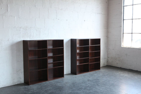 Omann Jun No. 6 Rosewood Bookshelves