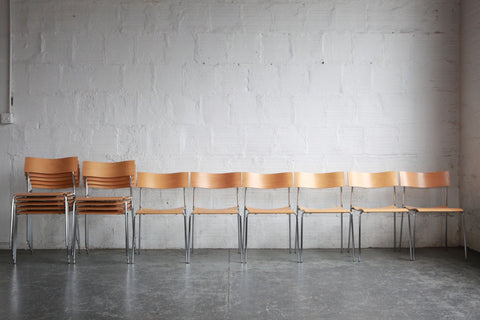Lammhults Mobel Swedish Side Chairs