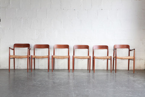 Niels Moller Model 77 Dining Chairs