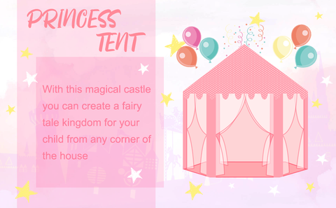Princess Play Tent - Toyship