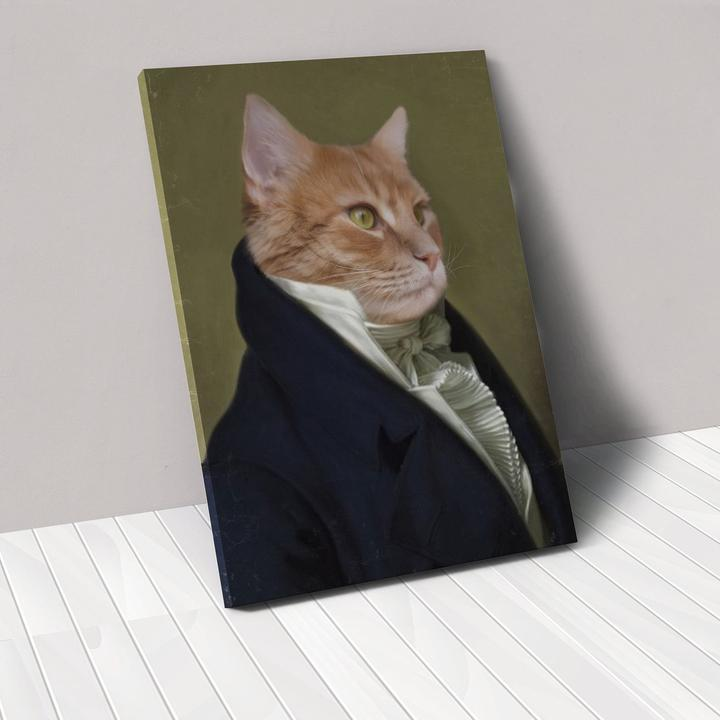 The Ambassador - Custom Pet Canvas - TOYSHIP