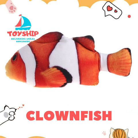 Image of Dancing Fish Toy for Cats