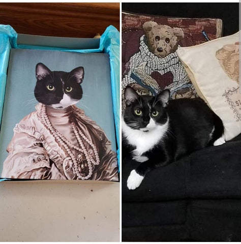 The Queen Regent - Custom Pet Canvas - TOYSHIP