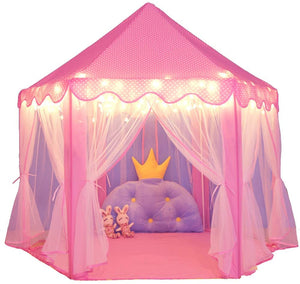 Princess Play Tent (Indoor / Outdoor Play tent) (Pink)