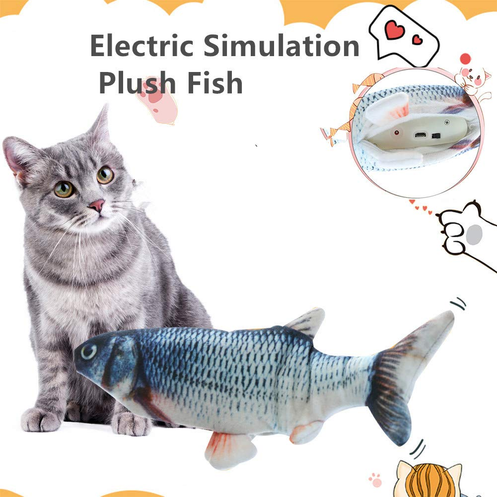 Moving Fish Toy for Cats - TOYSHIP