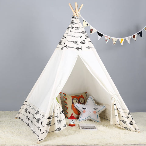 Image of Teepee Tent for Kids - Arrow Head
