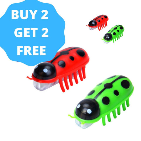 Image of Robot Bug Toy For Cats