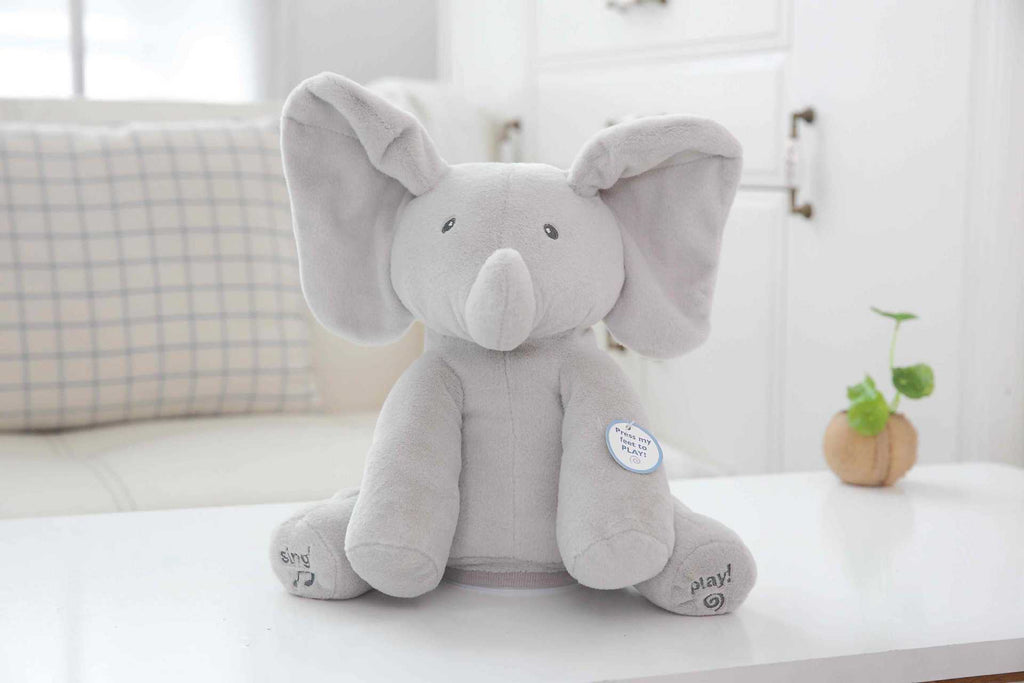 Elly The Animated Peek-A-boo Flappy Elephant Toy