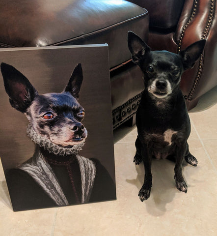 The Countess - Custom Pet Canvas - TOYSHIP