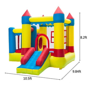 Thick Oxford Cloth Inflatable Bounce House Castle Ball Pit Jumper Kids Play Castle Multicolor