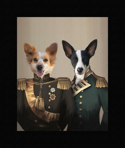 The Brothers in Arms - Custom Pet Canvas - TOYSHIP