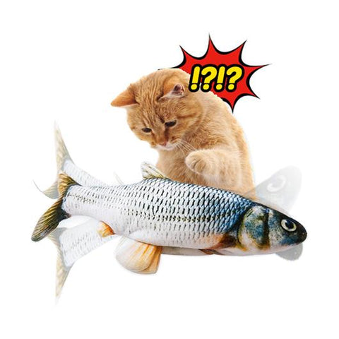 Image of Moving Fish Toy for Cats - TOYSHIP