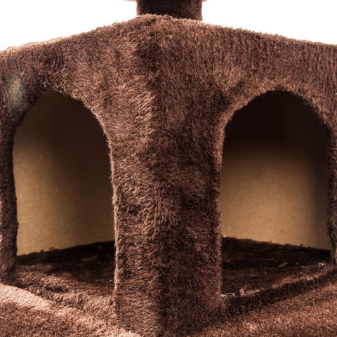 "52"" Solid Sisal Cat Climb Tree Condo"
