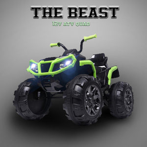 The Beast - 12V Kids Electric 4-Wheeler ATV Quad Ride On Car Toy