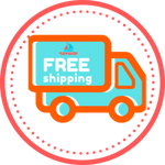 Image of FREE shipping. No surprises or hidden fees