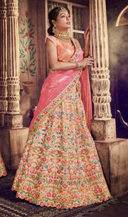 Light Pink party wear lehenga choli